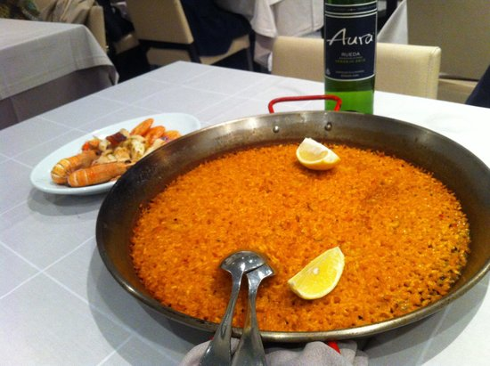 Restaurante Arroceria Mediterraneo: El arroz a banda