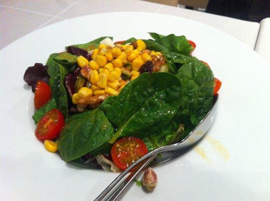 Restaurante Arroceria Mediterraneo: Ensalada de espinacas