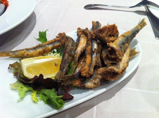 Restaurante Arroceria Mediterraneo: Boquerones fritos, media ración