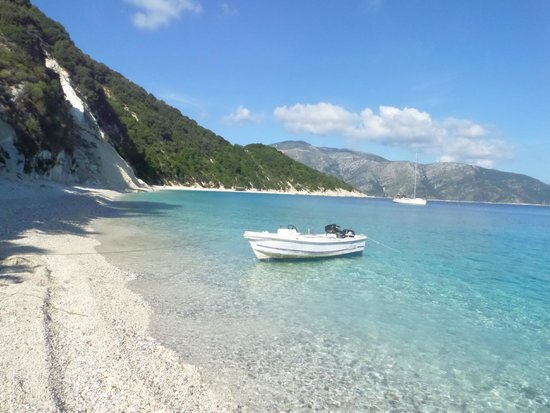 Ithaki, Grækenland: Beach