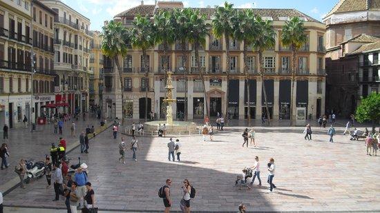 Malaga Altstadt Karte.Hauptplatz Altstadt Malaga Bild Von Iberostar Malaga Playa