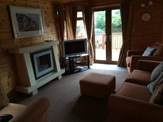 Dawlish, UK: Gold plus lodge