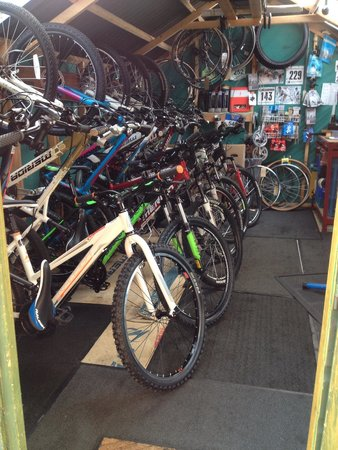 Гленкоу-Виллидж, UK: Wee have a large selection of bikes