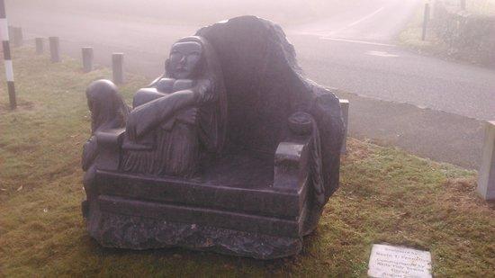 Kells priory sculpture by ktf river art