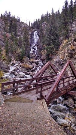 Fish Creek Falls : Lower trail to old bridge