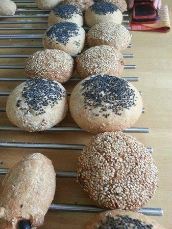 Bread in Fife: rolls
