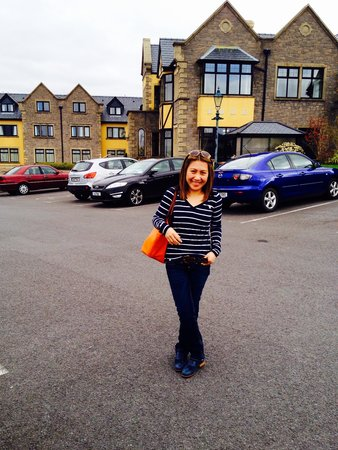 Knockranny House Hotel: The day we arrived...