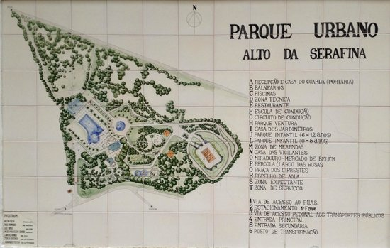 Placa Da Cml Picture Of Parque Recreativo Do Alto Da Serafina
