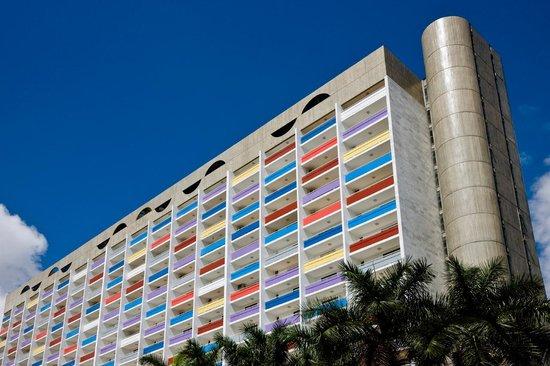 St Paul Plaza Hotel: Fachada