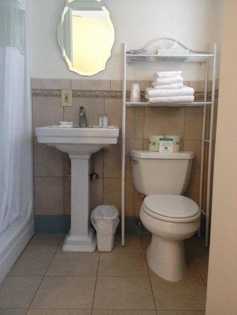 The Hotel Hollywood: Cute little bathroom