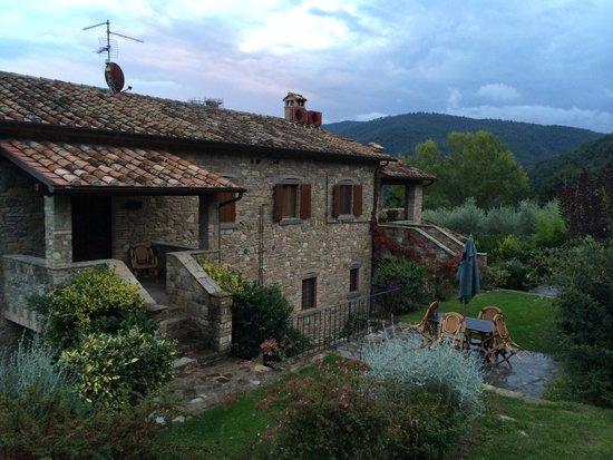 Agriturismo Rocca di Pierle: What a location