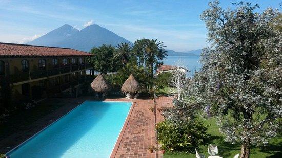 Villa Santa Catarina: Desde el balcón