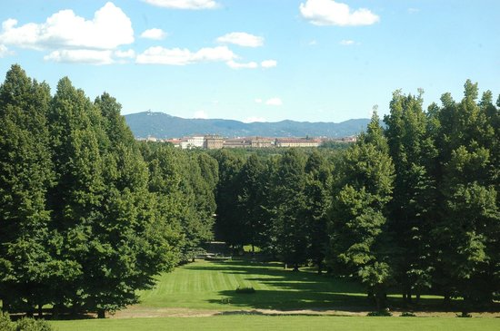 La Venaria Reale depuis le Castello La Mandria