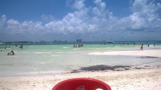 Las Perlas Condos : esta es playa cangrjos