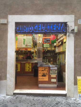 Photo of Italian Restaurant Quinto Gelateria at Via Di Tor Millina, 15, Rome 00186, Italy