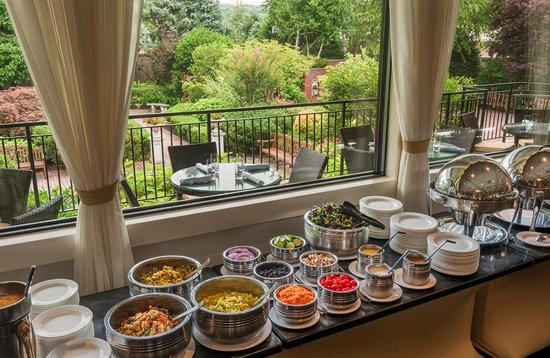 Radnor Hotel Terrace Room Buffet