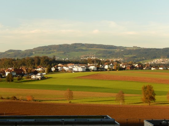Campus Sursee: View from our meeting room -- very nice