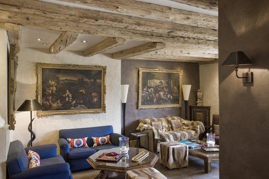 Chalet du Mont d'Arbois : Salon