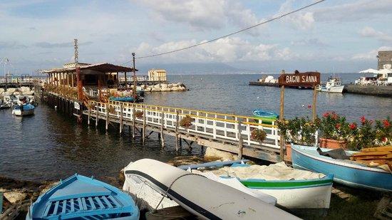 Ristorante bagni sant 39 anna pier along picture of ristorante bagni sant anna sorrento - Bagni sant anna sorrento ...