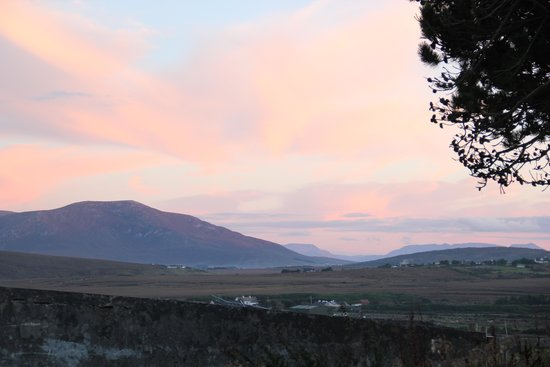 Achill Sound, Irland: View from Katie's Cottage