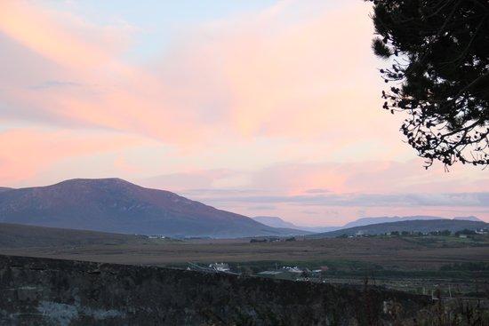 Achill Sound, Irlanda: View from Katie's Cottage