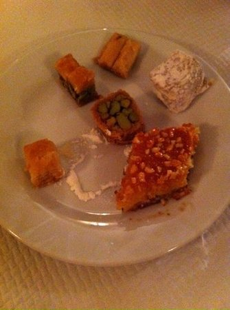 Les Mille Et Une Nuits : desserts libanais