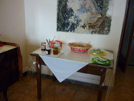 San Lodovico Institute: part of the breakfast