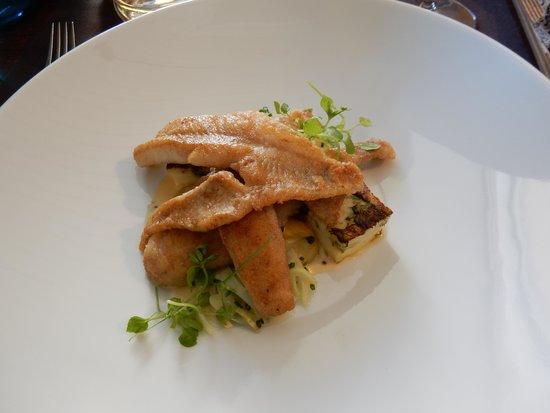 Juuri: Pan-fried perch