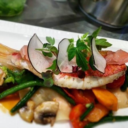 rouget barbet - Picture of Restaurant La Bergamote