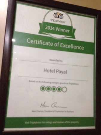 Hotel Payal: Falsedad!!!!