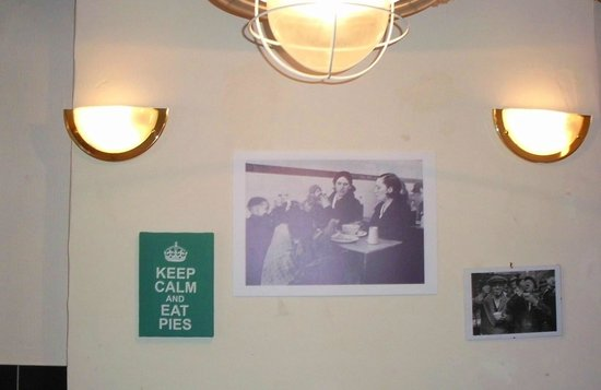Skipton Pie and Mash Shop: Some history as well
