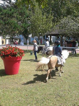 Hippodrome Deauville La Touques: Balade à cheval