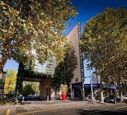 Hotel Republique : Facade