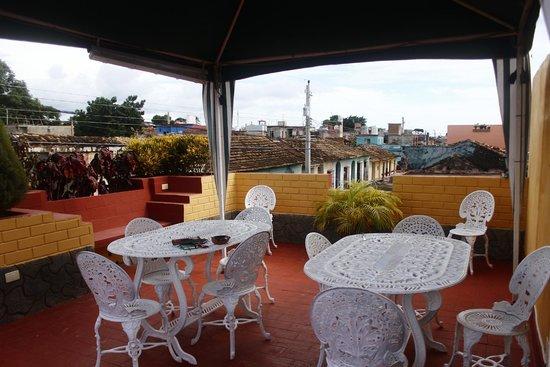 Hostal Casa La Torres Padron : Rooftop