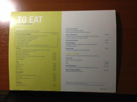 Four Points by Sheraton Saskatoon: Room Service