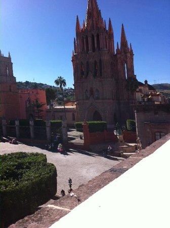 Hotel del Portal San Miguel: Vista desde la terraza