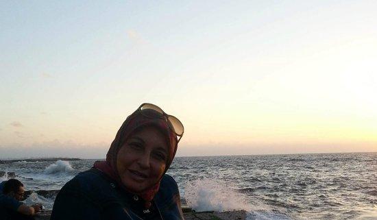 The Coffee Bean & Tea Leaf : Enjoying Sea Breeze & Sunset @ CBTL