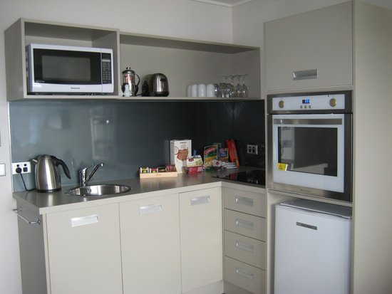 Te Anau Lakeview Holiday Park: Kitchen