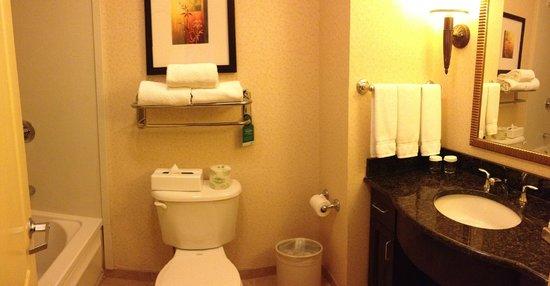 Homewood Suites by Hilton Boston/Cambridge-Arlington: Bathroom