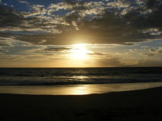 Kamaole Sands : Sunset