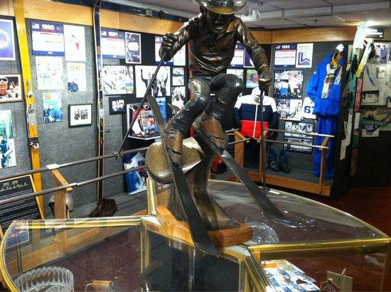 Colorado Ski Museum-Ski Hall of Fame: Inside museum