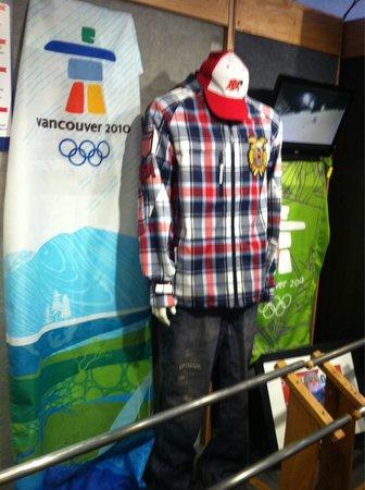 Colorado Ski Museum-Ski Hall of Fame: US Olympic gear