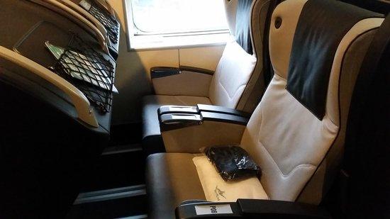 Stromness, UK: Sleeping Pod recliner seat