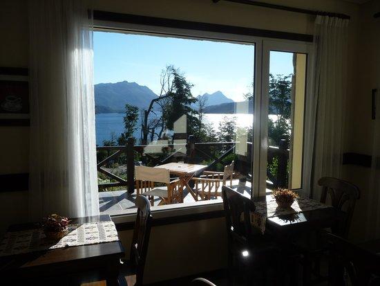 Hosteria Le Lac: desayunador