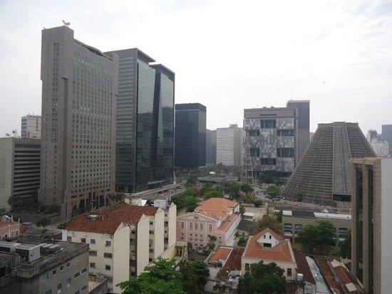 Hotel Granada: Vista do terraço do hotel
