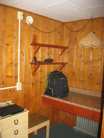 Trail Riders Motel: Good work space