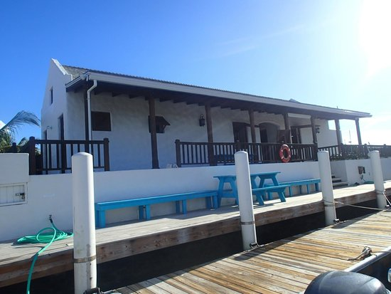 Caicos Adventures: Their own private dock