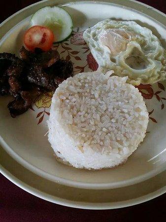 Darayonan Lodge: Breakfast: Tapsilog