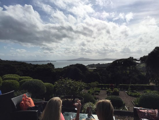 Waiheke Island, New Zealand: End to a lovely day