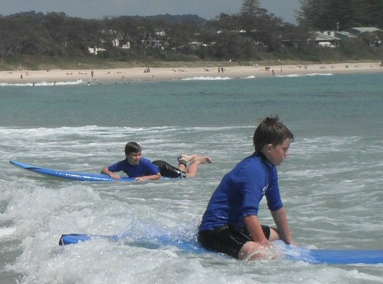 Lets Go Surfing Byron Bay: stoked